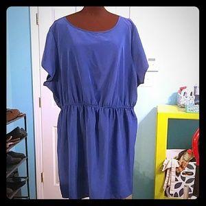 ASOS Curve Size 20 Blue Dress